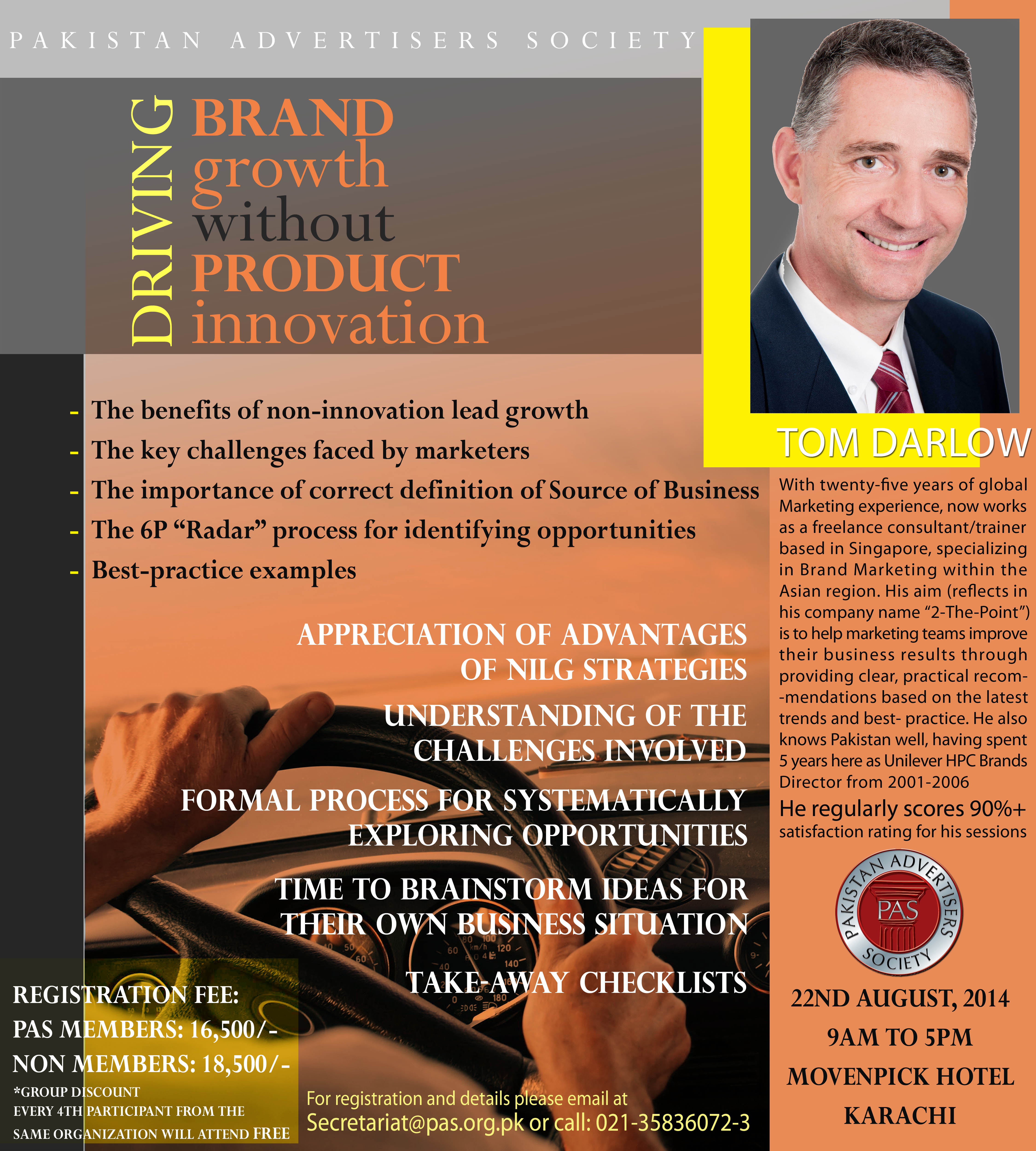 PAS Driving Brand Growth Mailshot copy