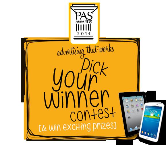 Pick Your Winner Contest