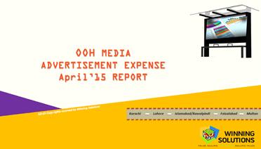 OOH Media AdEx Report April 2015