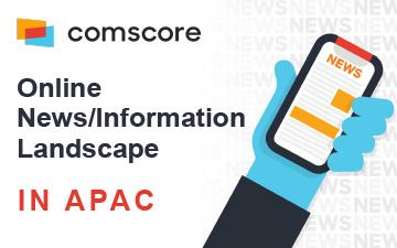 Comscore – Online News/Information landscape in APAC
