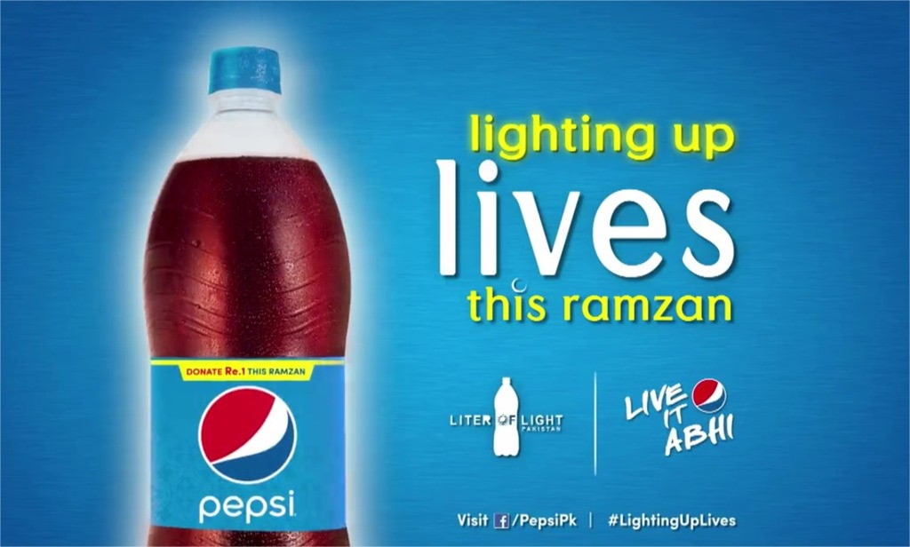 Pepsi & Walter Pakistan Bring Eco Friendly Lighting to the