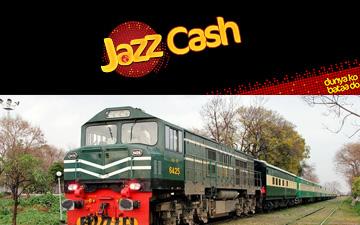 Jazz Cash Signs MOU with Pakistan Railway