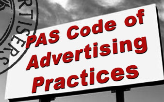 PAS Code of Advertising Practices