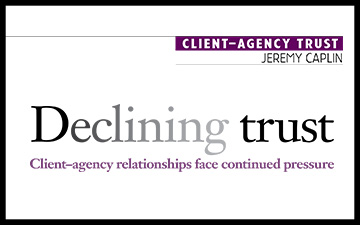 Declining Trust