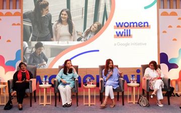 Business leaders participate in Google's first Women Will Lead Workshop in Pakistan