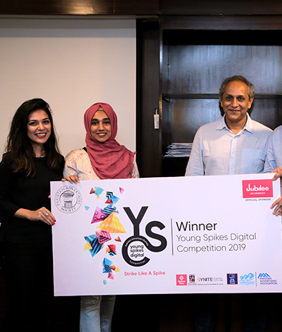 THROUGH THE YOUNG SPIKES DIGITAL COMPETITION, PAS WILL BE SENDING THE BRIGHTEST TEAM TO SPIKES ASIA FESTIVAL 2019